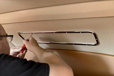 Tighten all screws from inside