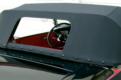"Optional ""Removable Rear Curtain"" open"